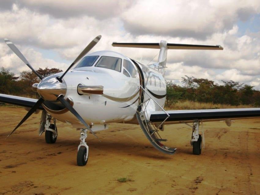 plane parked