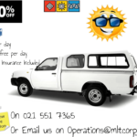 """Members only"" Car & Bakkie Specials from MLT Corporation"