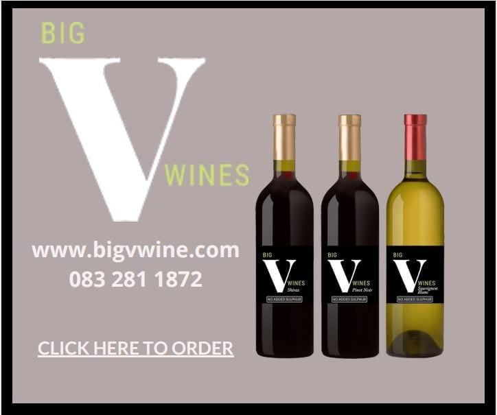 Big V wines by Vernon Kirsten